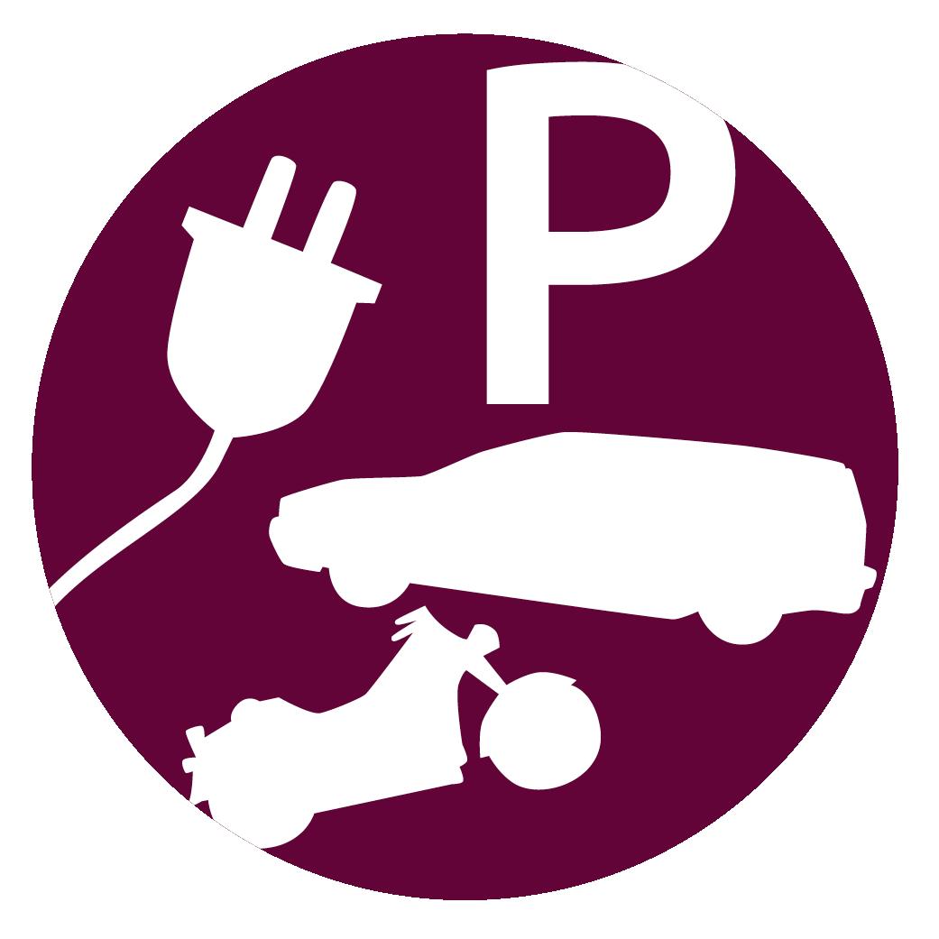 Bild med antal lediga parkeringsplatser