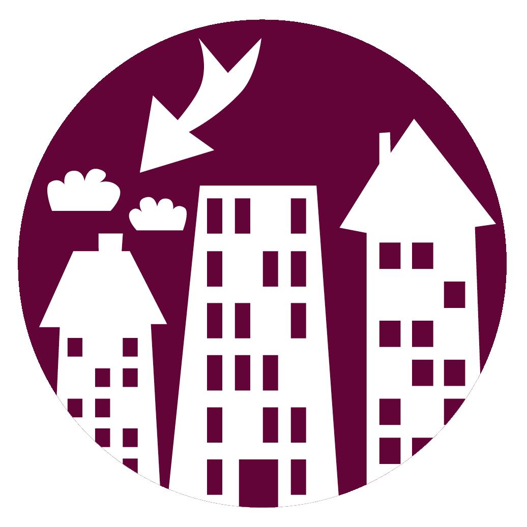 Bild med antal lediga lägenheter